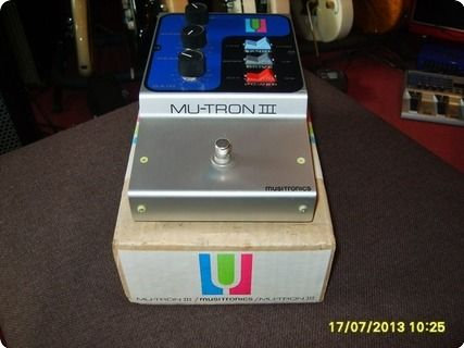 Believe it or not this item is unused and a brand new from the 70is, This rare keyboard and guitar effect gear is the Origin from the Musitronics. In the origin case and papers. Keep