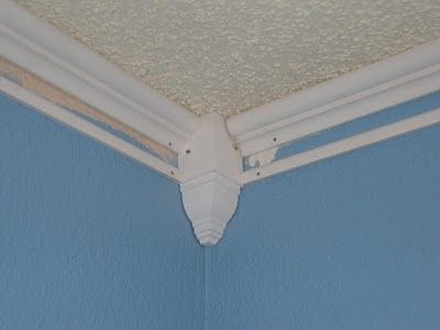 MerriLEE We Roll Along: faux crown moulding