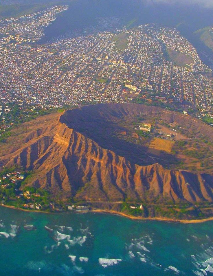 Diamond Head | Oahu State Park. I climbed to the top of this and thought I was going to die before I got there :) but totally worth the spectacular scenery.