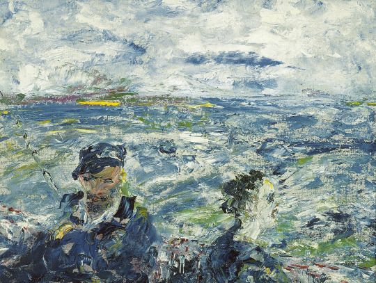 Jack Butler Yeats (Irish, 1871-1957), The Child of the Sea, 1948.