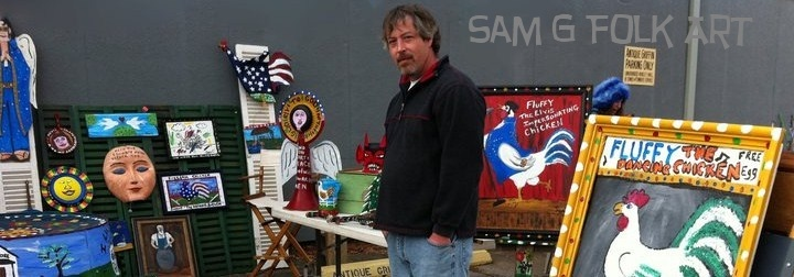 Sam G Folk Art-awesome pieces if you are looking for ...