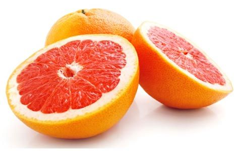 Grapefruit  This citrus fruit won weight-loss fame after a study found that people who ate half a grapefruit with each meal lost 3.6 pounds, while those who drank a serving of grapefruit juice three times a day lost 3.3 pounds. Many people in the study lost more than 10 pounds without making any other changes to their diets!