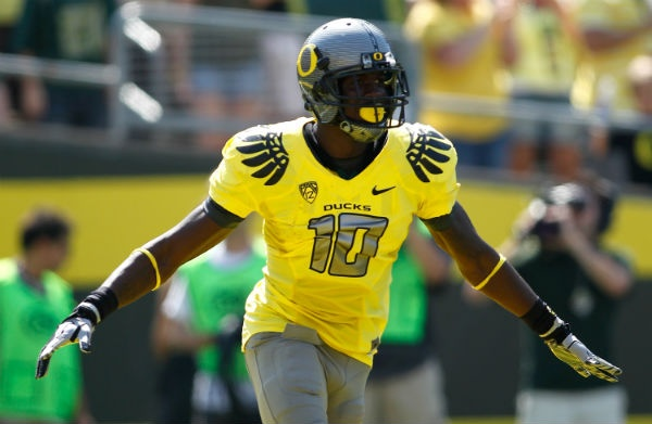One of Oregon's many jersey combinations: Oregon Ducks, Sports, Jersey Combinations