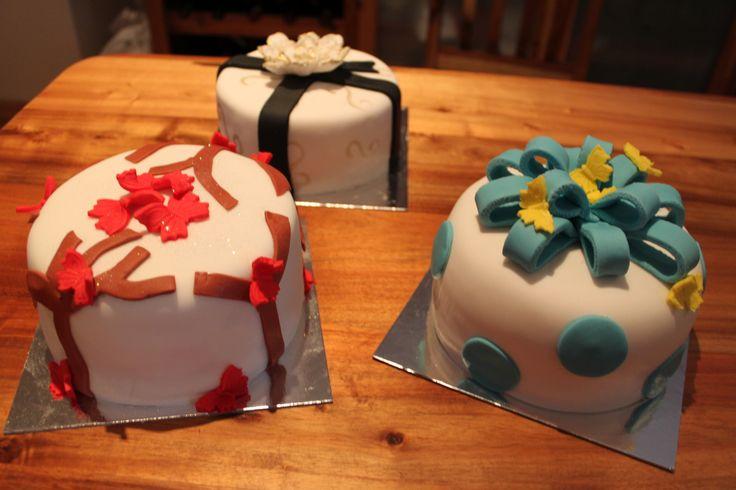 Small birthday cakes