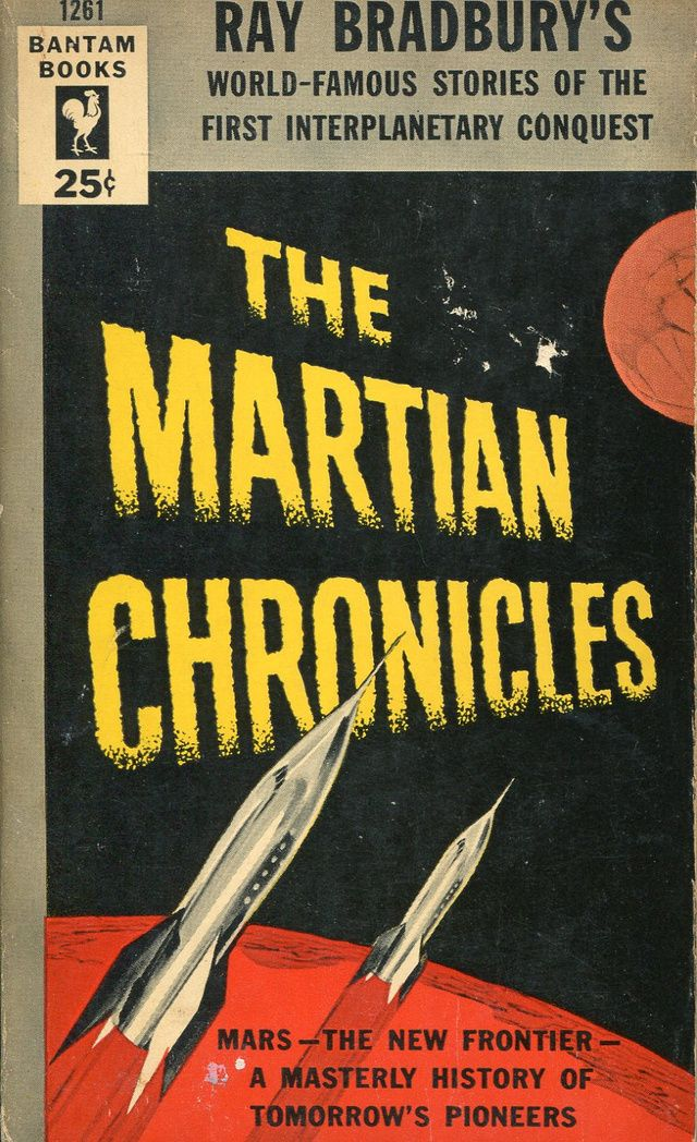 The Martian Chronicles by Ray Bradbury.  Published by Bantam Books in 1954.