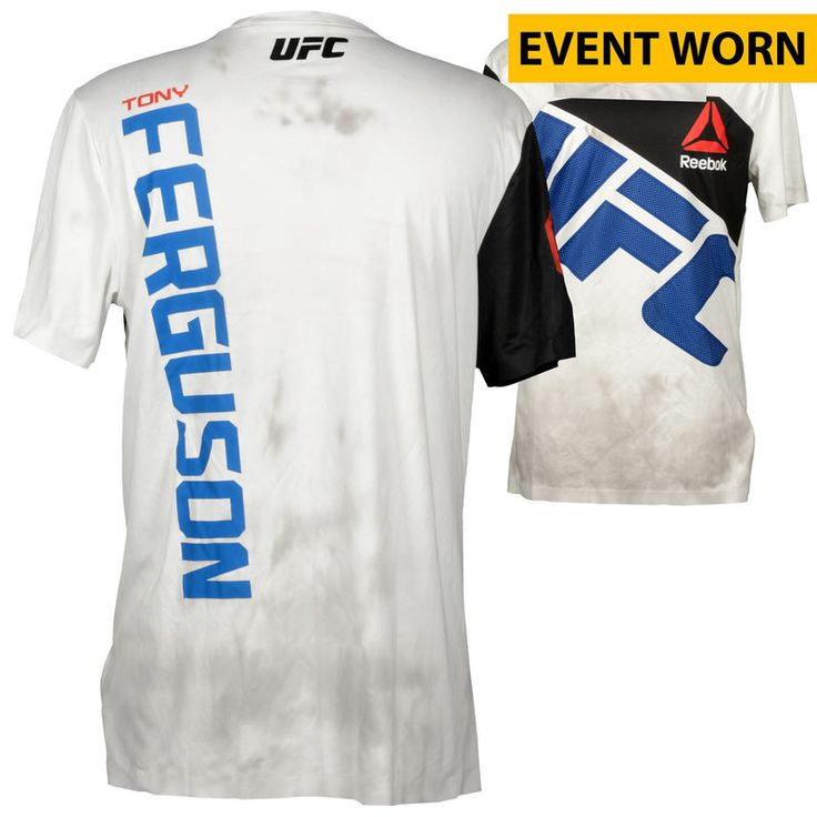 Tony Ferguson Ultimate Fighting Championship Fanatics Authentic UFC Fight Night Mir vs. Duffee Event-Worn Walkout Jersey - Defeated Josh Thomson via Unanimous Decision