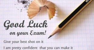 best of luck quotes for exams