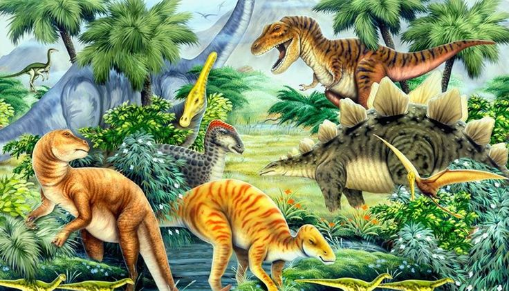 Dinosaur valley wall mural painting ideas pinterest for Dinosaur mural ideas