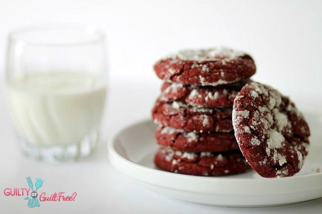 red velvet cookie - these look really good!