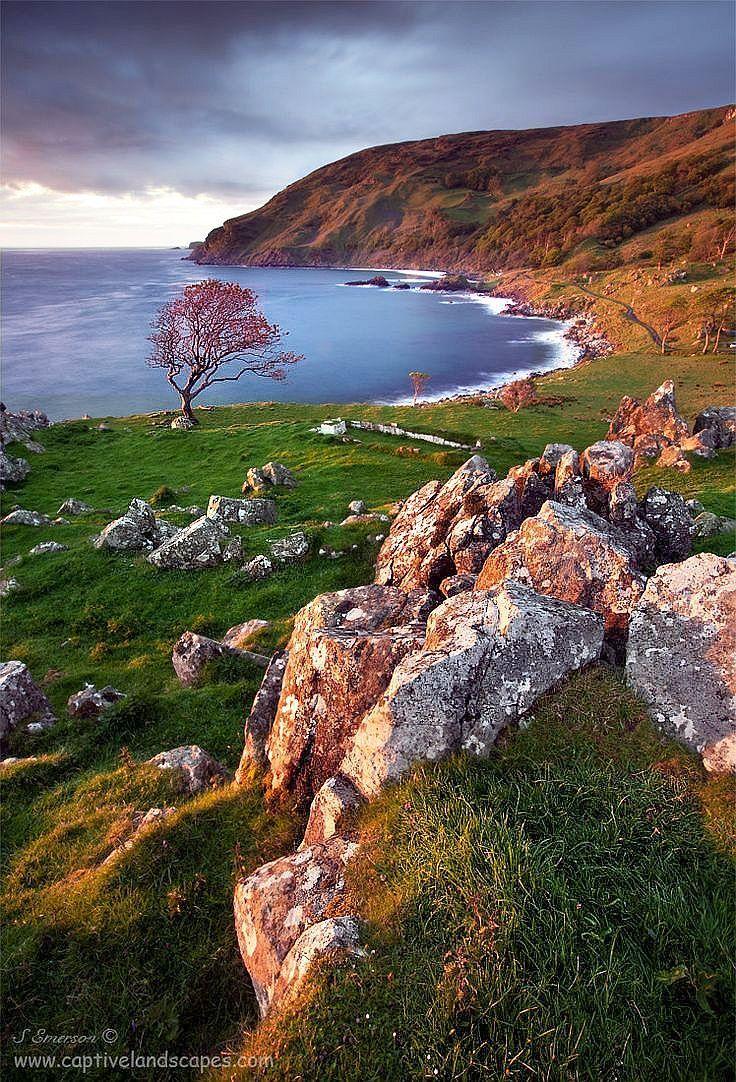 Morning light - Murlough Bay, Antrim, Ireland (by Stephen Emerson on 500px)