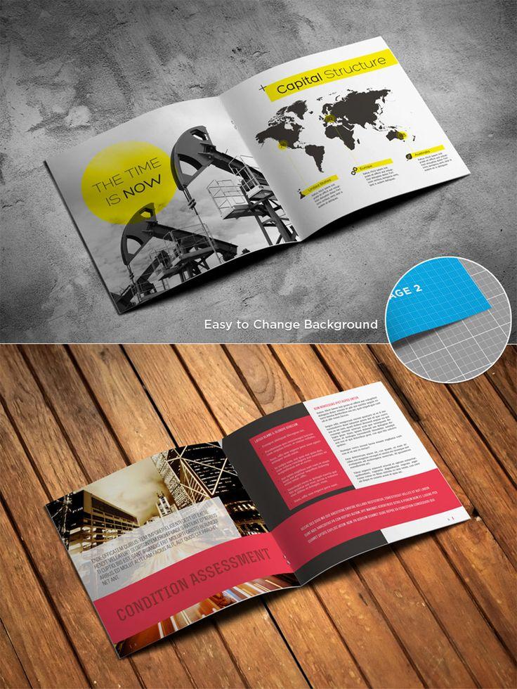 Free Magazine Brochure Catalog Mockup (17 MB) | downloadpsd.com | #free…
