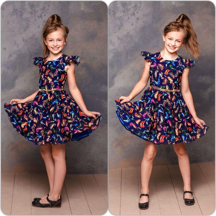 """Купить Модные платья для девочек """"Маленькая мисс"""" (арт. 90) - платья для девочек"""