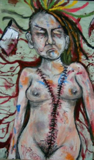 Autopsy selfportrait /sold