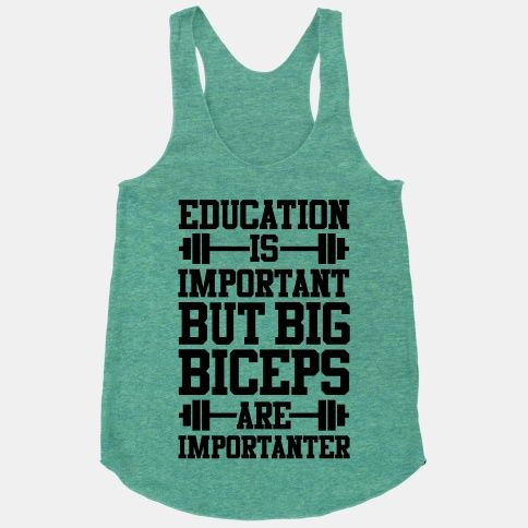 Big Biceps Are Importanter #funny #fitness #biceps #workout #sweat #muscles #lifting #education #gym
