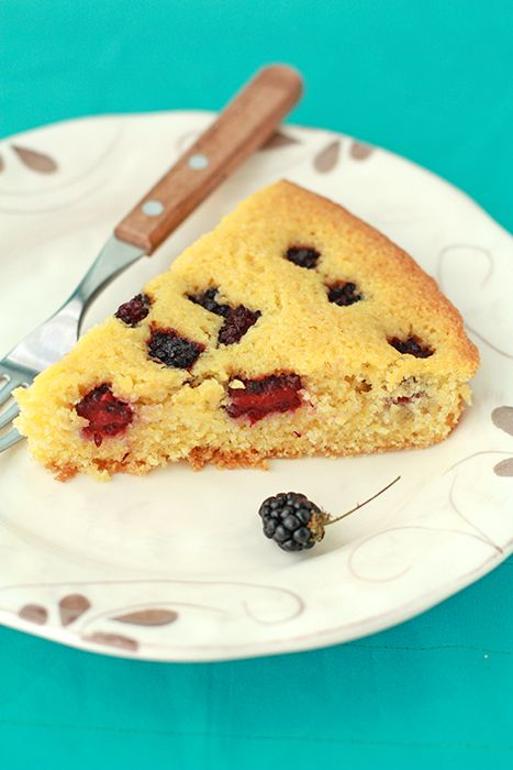 blackberry cornmeal cake | Baking and sweet treats... | Pinterest