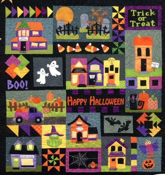 quilt pattern Booville Block of the Month, designed by Sharon Williams, Briarwood Cottage, 51 in x 54 in.