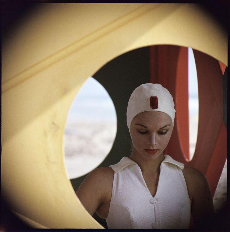 Gordon Parks - Jeweled Cap, Malibu, California, 1958