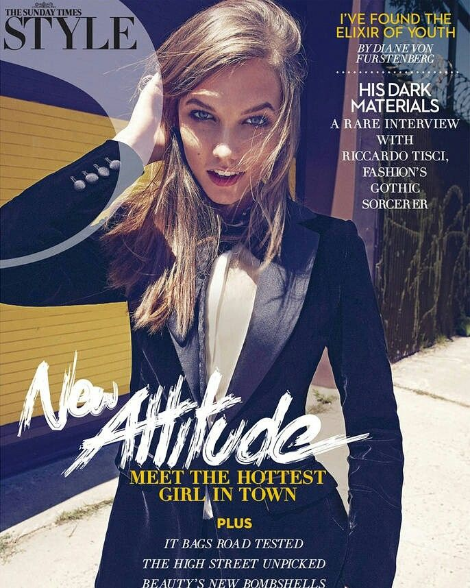 Covers of The Sunday Times Style with KK,2011