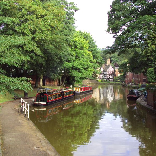 Trails | Est 1761 | The Bridgewater Canal in Salford