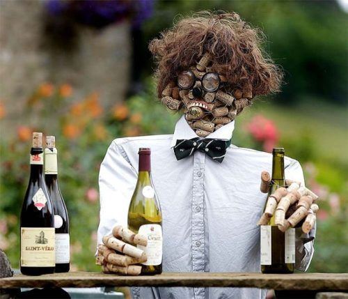 THIS IS DYLAN MORAN!!! : Halloween Parties, Wine Corks Art, Funny Pictures, Men Projects, Irons Men, Corks Ideas, Black Sabbath, Corks Crafts, Parties Decor