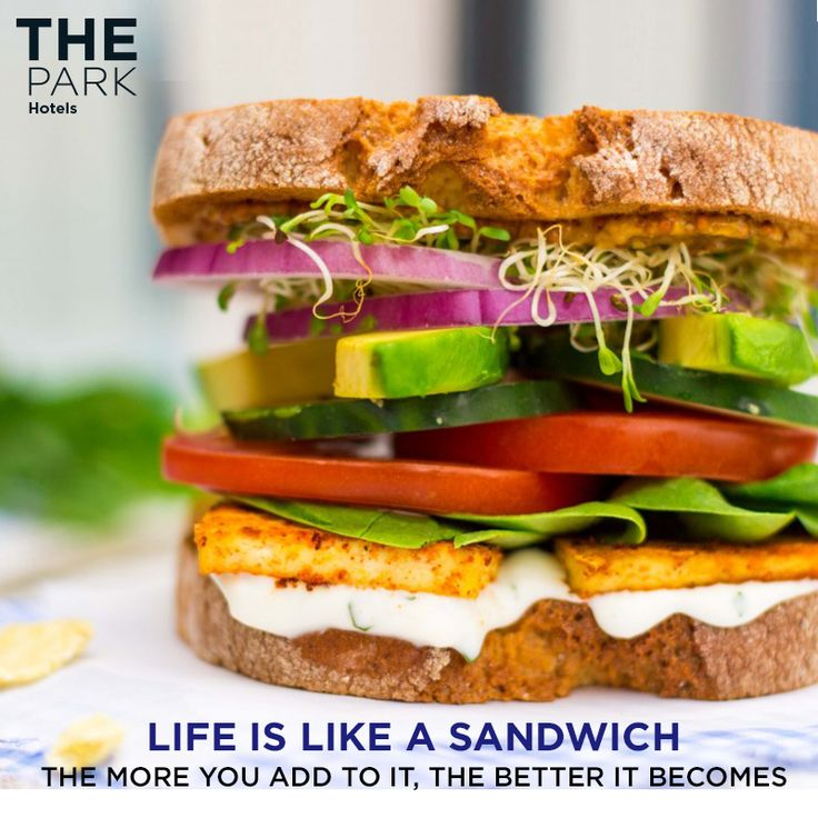 We couldn't agree more! What about you? Happy National Sandwich Day!