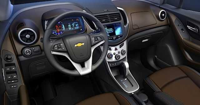 Chevrolet Captiva 2016 Interior