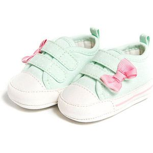 child of mine by carters newborn girl sneakers #polkadots #carters - $7.24
