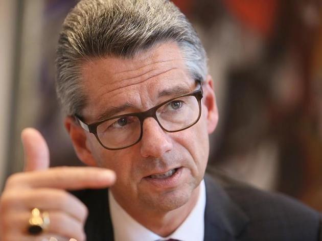 BDI-Präsident Ulrich Grillo hält eine Rente mit 85 für möglich.