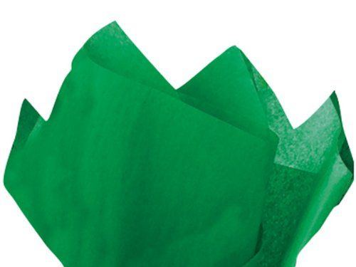 FESTIVE GREEN Tissue Paper 20x30'480 Sheet Flat Ream (1 unit, 1 pack per unit.) *** Learn more by visiting the image link.