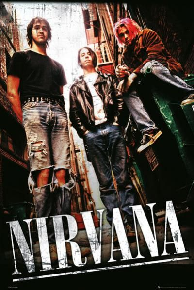 Alley by Nirvana poster