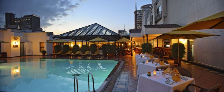 Sarova Stanley - Pool Deck Evening