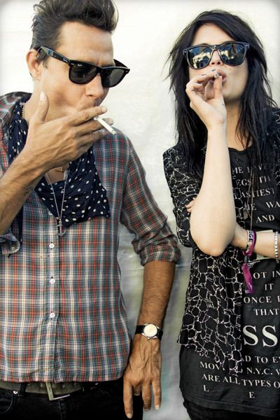 The Kills (Alison Mosshart & Jamie Hince)