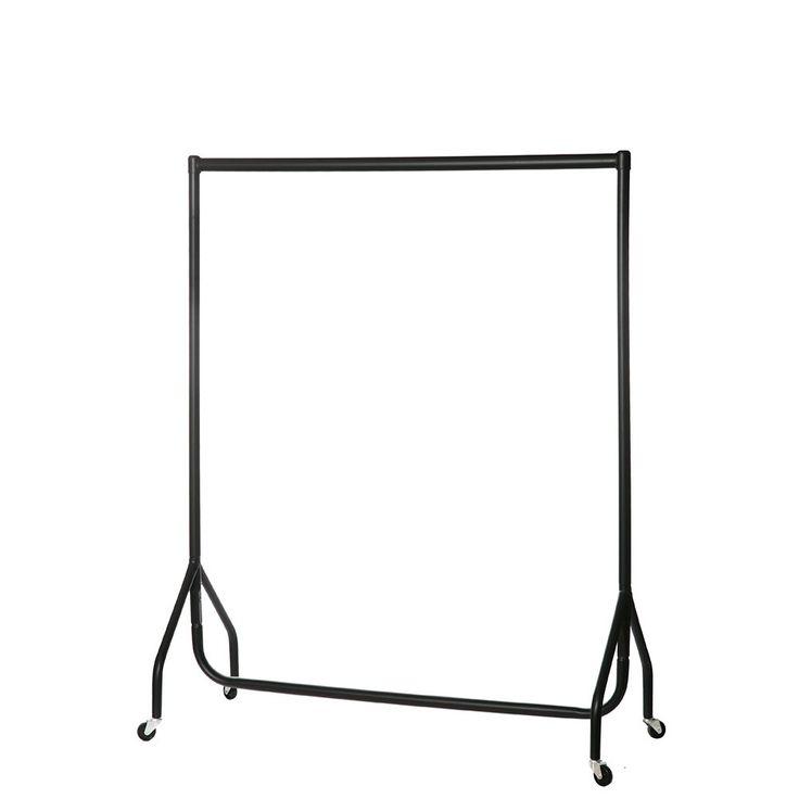 Heavy Duty Clothes Rail - 4ft Wide, Black | Clothes Rails Range