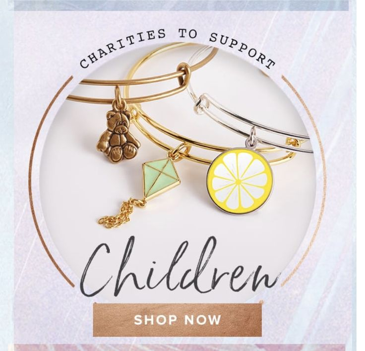 Shop for a cause— Alex and Ani
