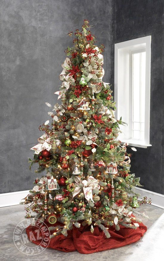 1000  images about raz decorated christmas trees on