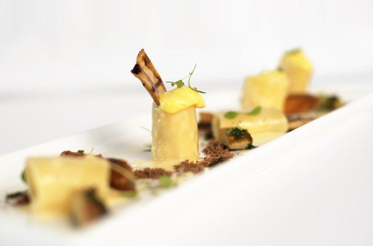 Paccheri al profumo di funghi di bosco - Chef Chicco Cerea