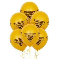 Monster Jam Theme Latex Balloon