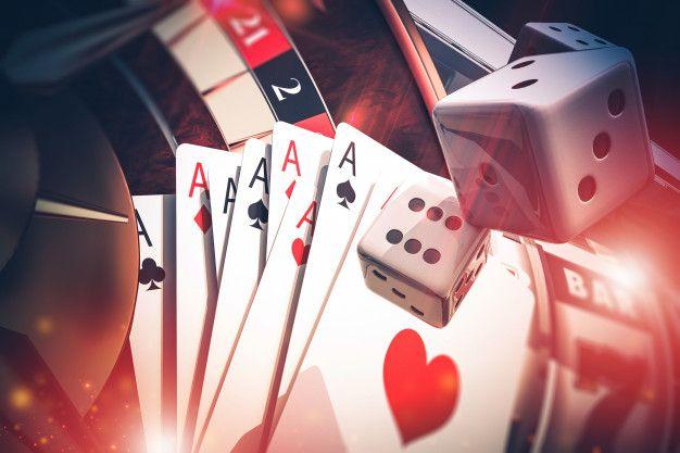 Multi casino games concept 3d render ill... | Premium Photo #Freepik #photo  #background #light #3d #game in 2020 | Casino games, Online casino games,  Game concept