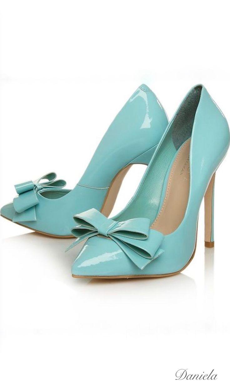 Tiffany Blue Carvela Heels