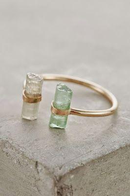 Smykker med krystaller
