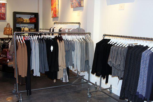 Simple Rack Clothing Racks in Las Vegas Clothing Boutique