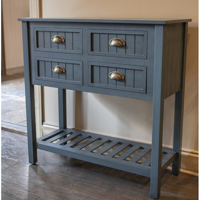 Rosas 4 Drawer Console Table Console Table Furniture Table