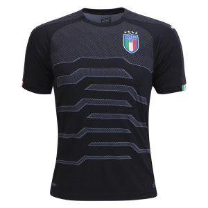 2018 Soccer Jersey Italy Goalie Replica Black Shirt [BFC430]