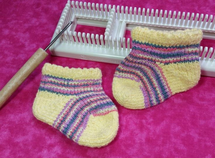 Knitting Socks On A Loom : Best images about loom knit babies kids on pinterest