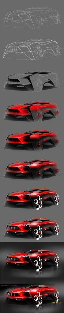 Future Ferrari FSUV Concept