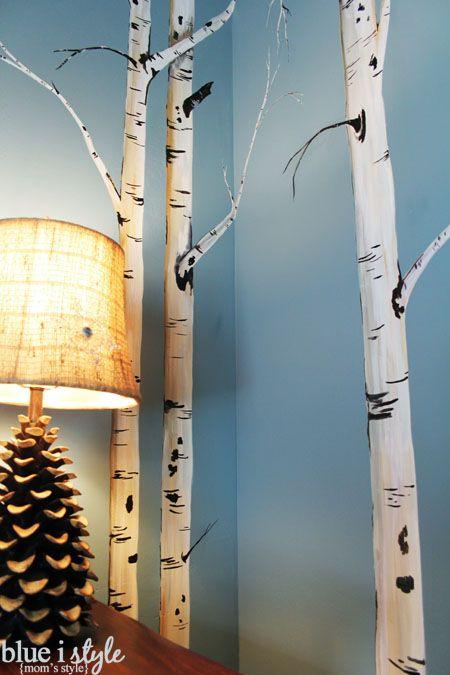 {mom's style} Winter Wonderland Bedroom in Breckenridge | Blue i Style