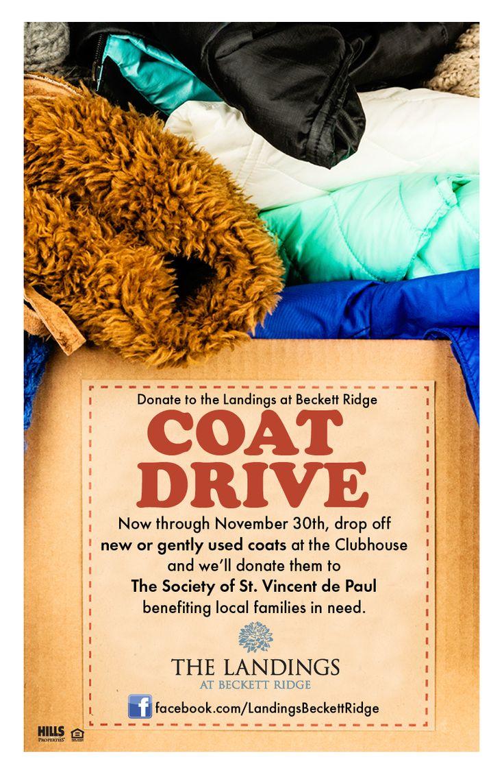 Toy Drive Flyer : Coat drive resident events pinterest coats