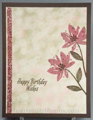 Heart's Delight Cards: Avant-Garden Birthday