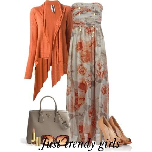 maxi dress in floral prints with cardigan  Colorful maxi dresses with cardigans http://www.justtrendygirls.com/colorful-maxi-dresses-with-cardigans/