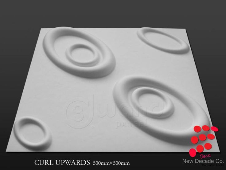 3D Board CURL UPWARDS لوح ثلاثي الابعاد
